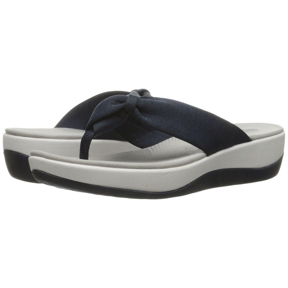 クラークス Clarks レディース ビーチサンダル シューズ・靴【Arla Glison】Blue Heather Fabric