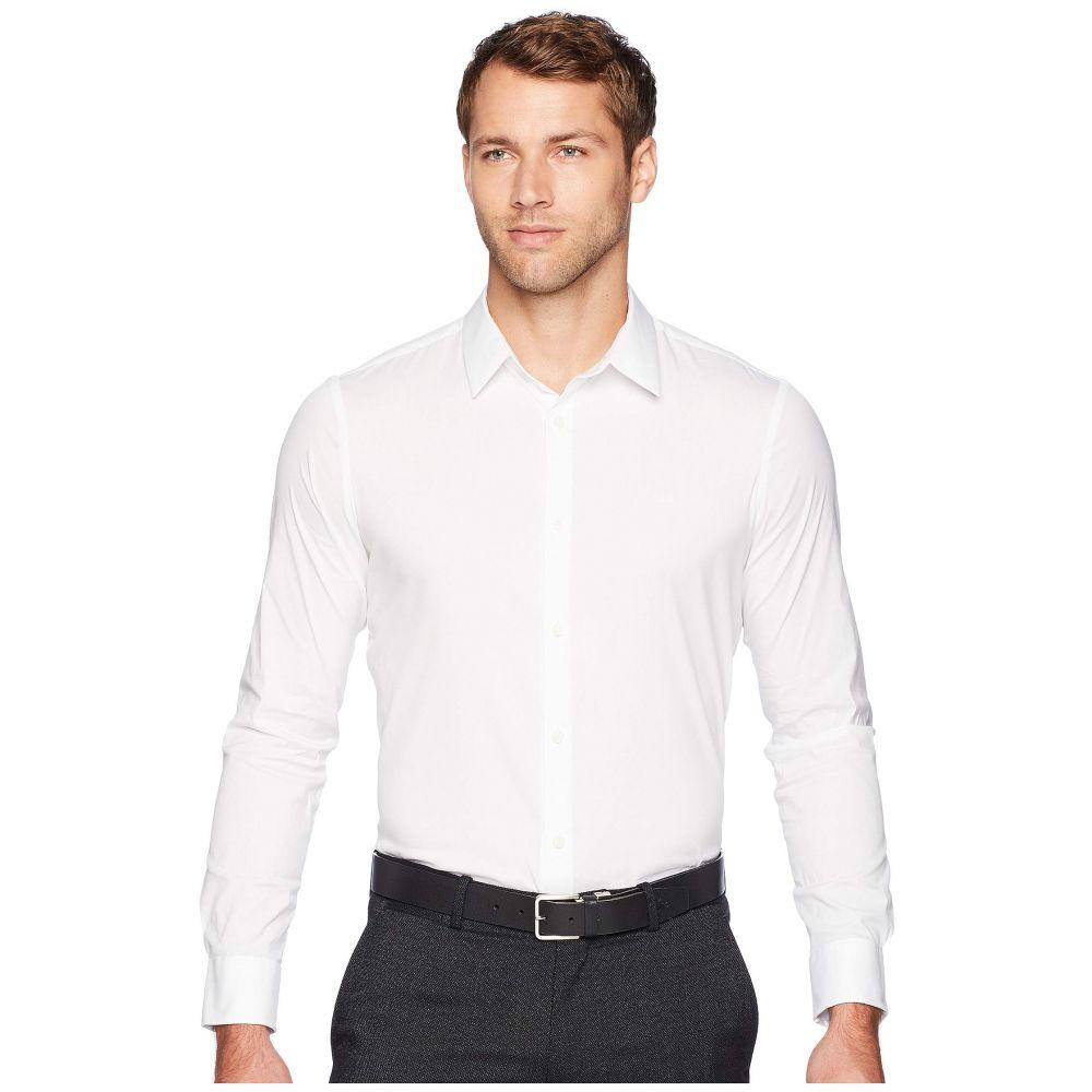 カルバンクライン Calvin Klein メンズ シャツ トップス【The Stretch-Cotton Shirt】Standard White