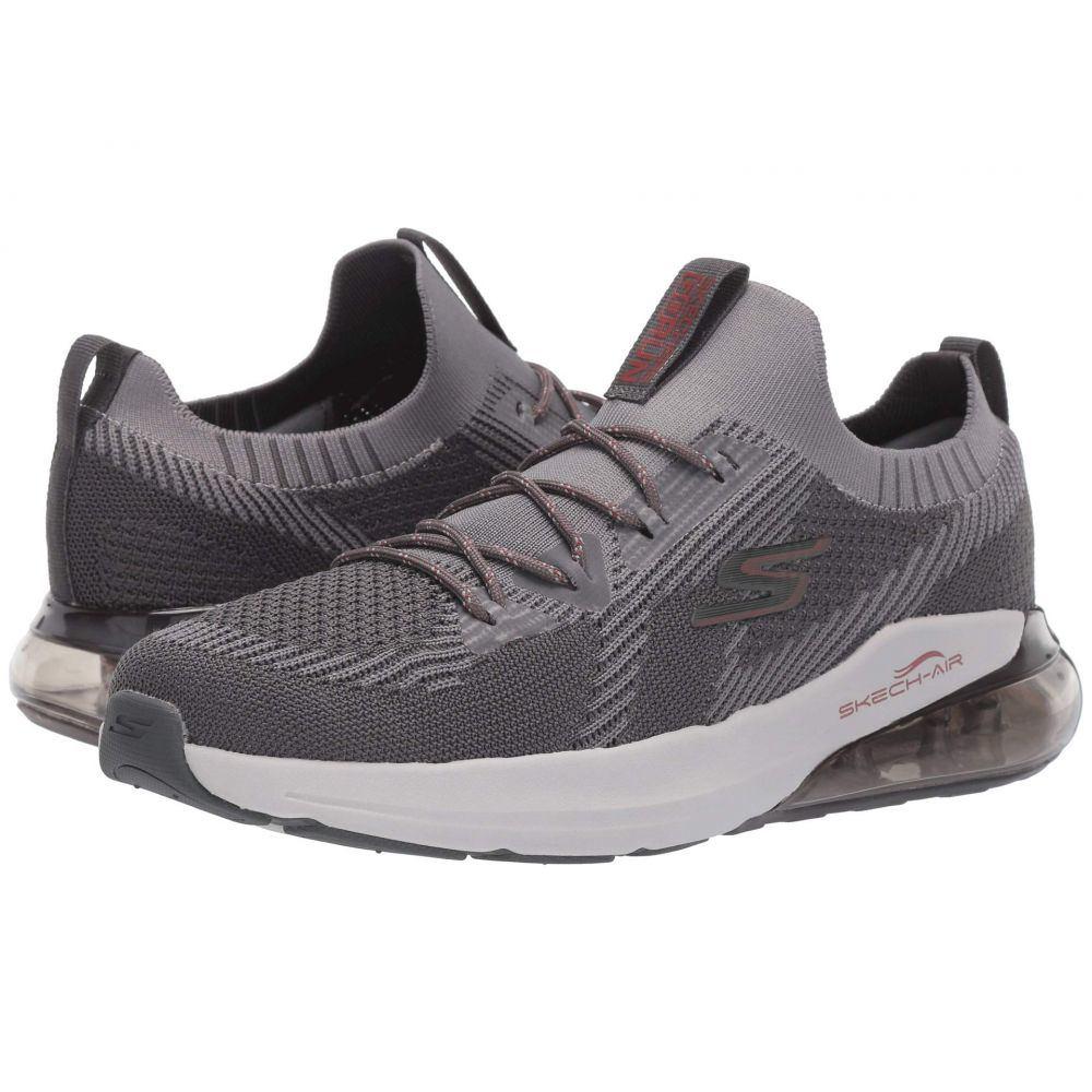 スケッチャーズ SKECHERS メンズ ランニング・ウォーキング シューズ・靴【Go Run Air】Charcoal/Red