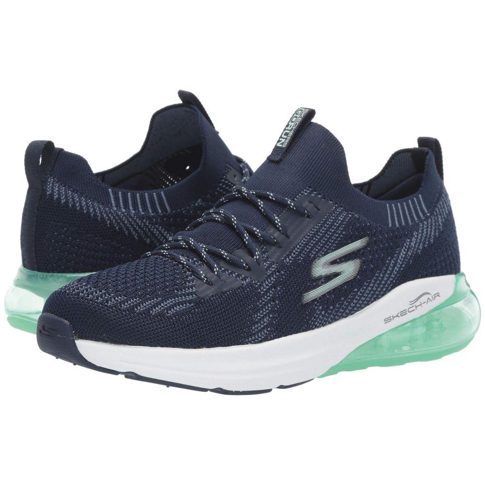 スケッチャーズ SKECHERS レディース ランニング・ウォーキング シューズ・靴【Go Run Air】Navy/Aqua