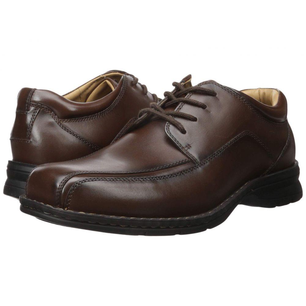ドッカーズ Dockers メンズ 革靴・ビジネスシューズ モックトゥ シューズ・靴【Trustee Moc Toe Oxford】Dark Tan Leather