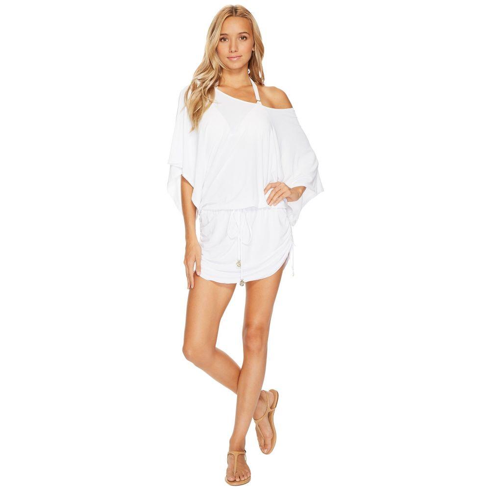 ルリファマ Luli Fama レディース ビーチウェア ワンピース・ドレス 水着・ビーチウェア【Cosita Buena South Beach Dress Cover-Up】White