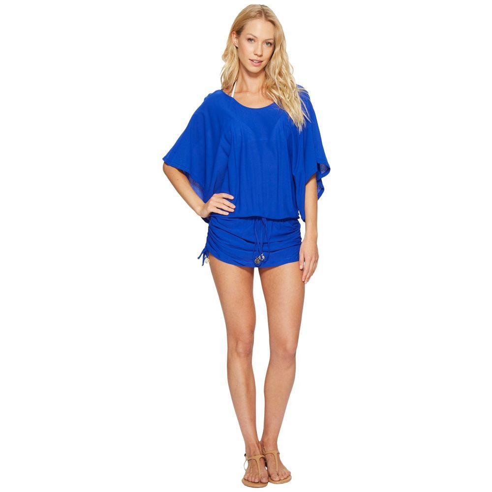 South Cover-Up】Electric Blue Buena Luli レディース 水着・ビーチウェア【Cosita Beach ワンピース・ドレス ルリファマ Fama Dress ビーチウェア