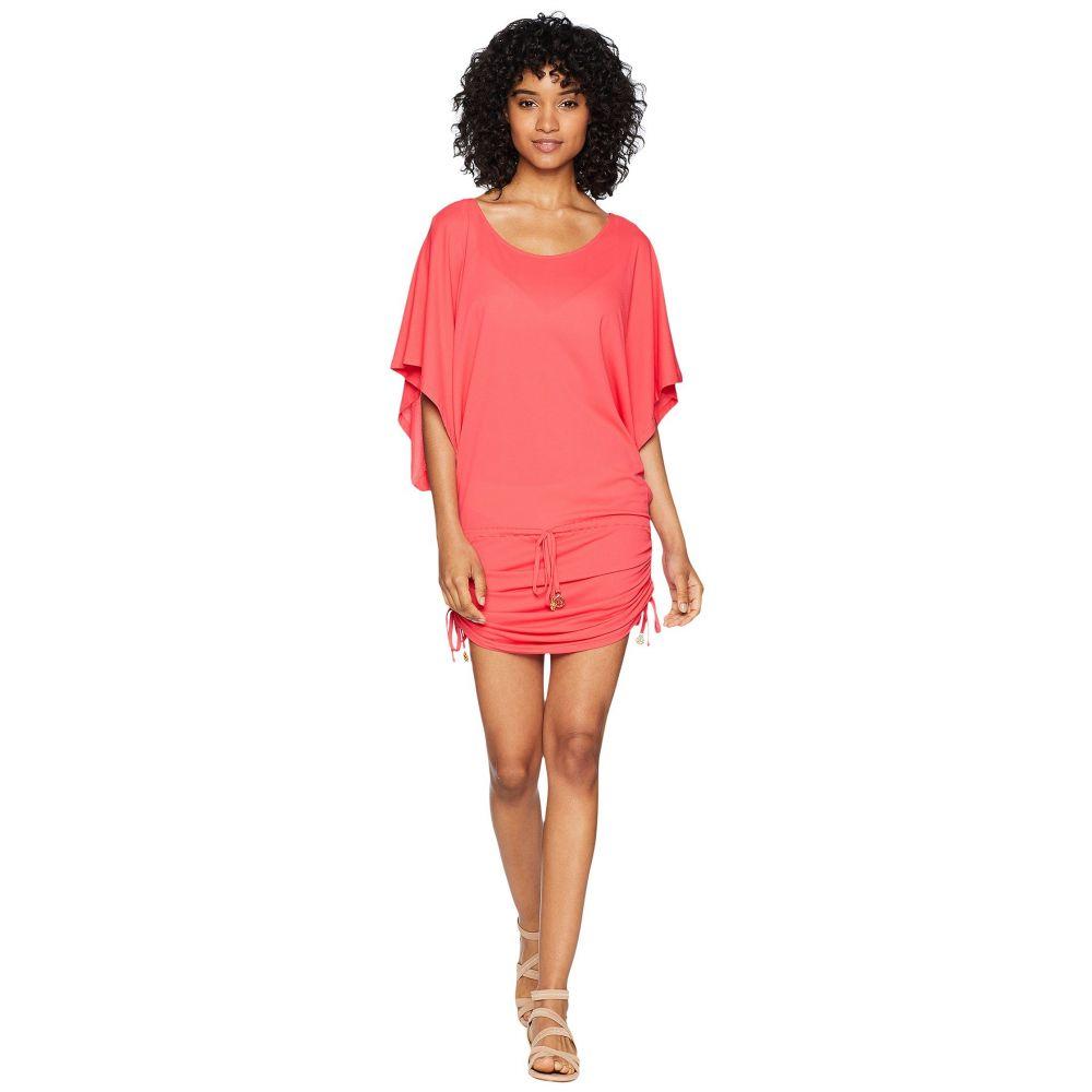 ルリファマ Luli Fama レディース ビーチウェア ワンピース・ドレス 水着・ビーチウェア【Cosita Buena South Beach Dress Cover-Up】Bombshell Red