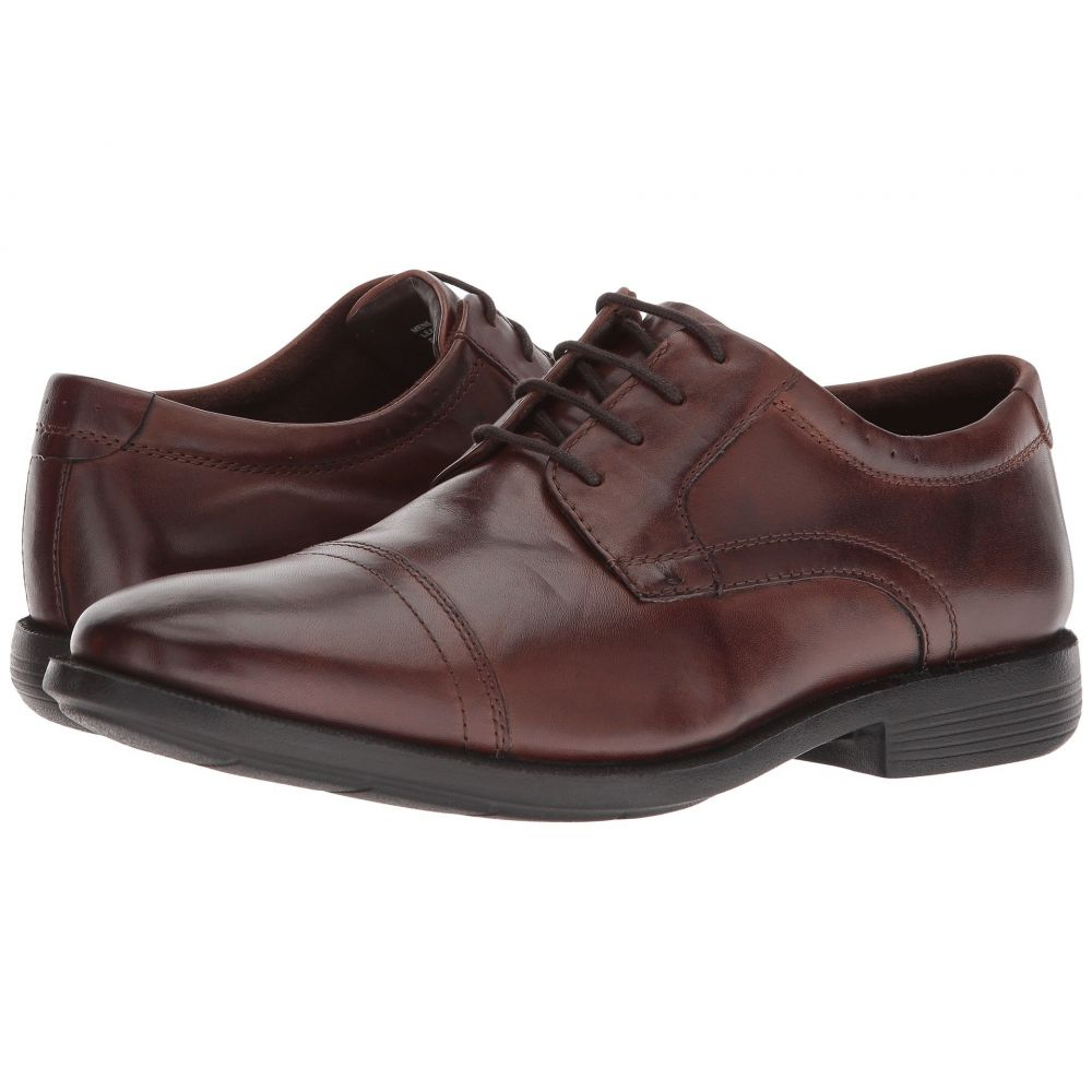 ナンブッシュ Nunn Bush メンズ 革靴・ビジネスシューズ シューズ・靴【Dixon Cap Toe Oxford with KORE Walking Comfort Technology】Brown