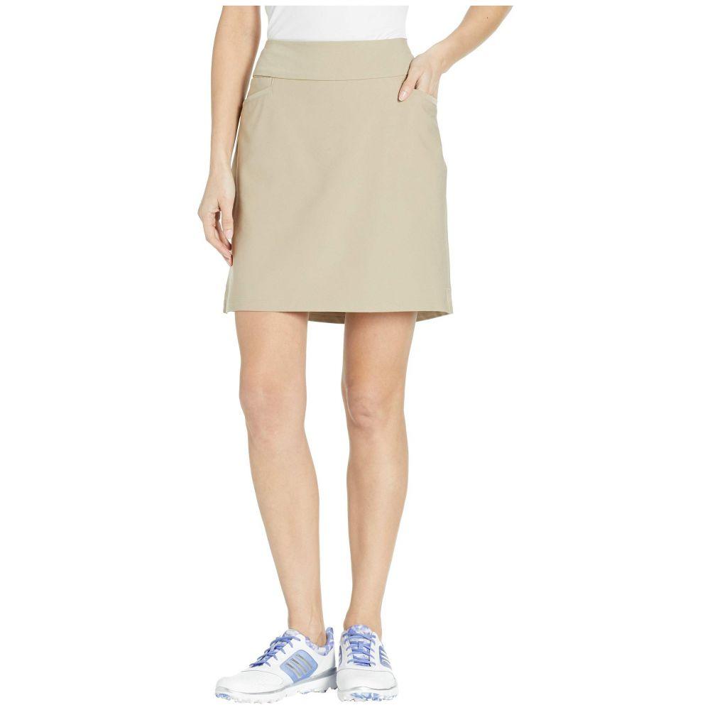 アディダス adidas Golf レディース ミニスカート スコート スカート【Ultimate Woven 18' Skort】Trace Khaki
