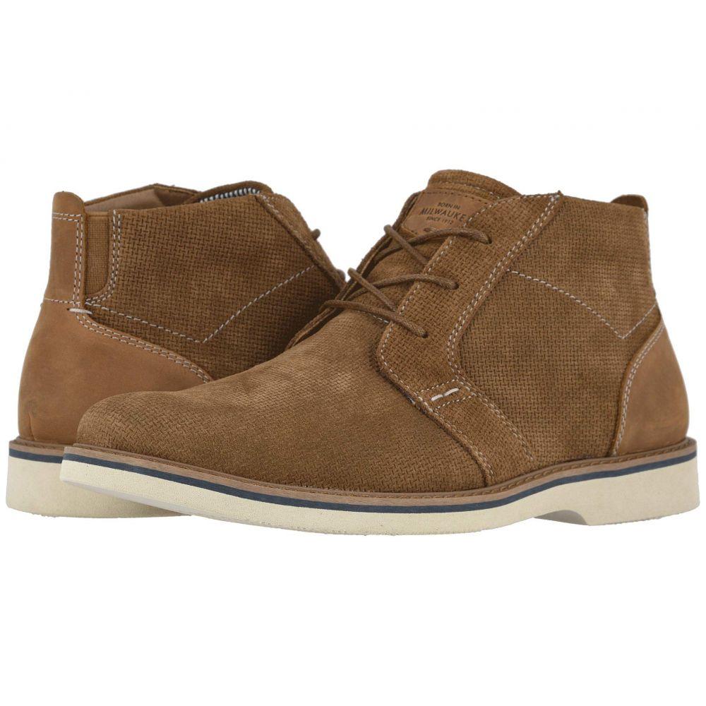ナンブッシュ Nunn Bush メンズ ブーツ チャッカブーツ シューズ・靴【Barklay Plain Toe Chukka】Tan w/Light Sole