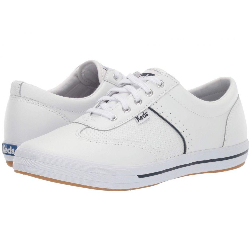 ケッズ Keds レディース スニーカー シューズ・靴【Courty Leather】White