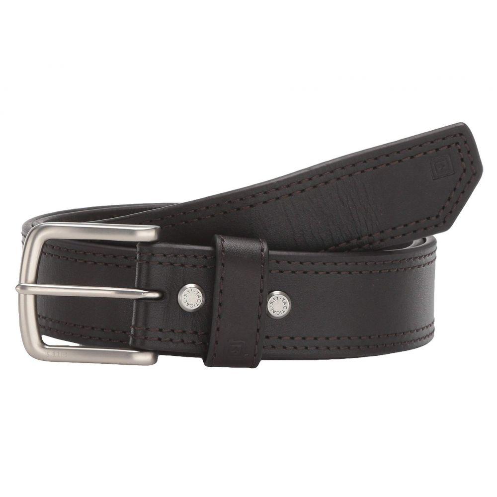 5.11 タクティカル 5.11 Tactical メンズ ベルト 【1.5' Arc Leather Belt】Brown