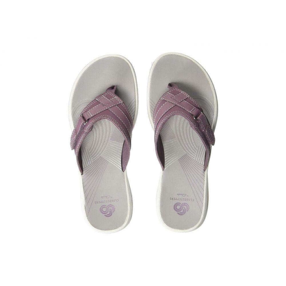 クラークス Clarks レディース ビーチサンダル シューズ・靴【Breeze Sea】Purple Synthetic