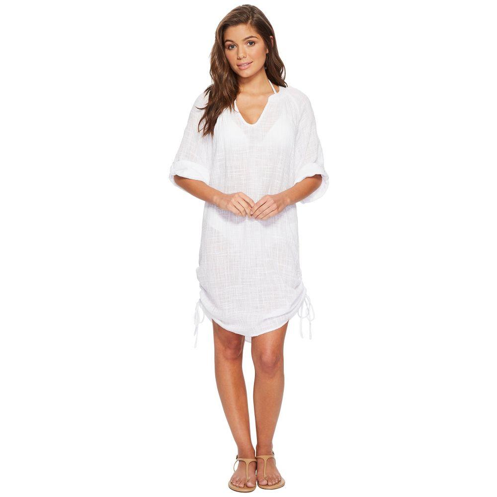 シーフォリー Seafolly レディース ビーチウェア トップス 水着・ビーチウェア【Bali Hai Textured Gauze Beach Shirt Cover-Up】White