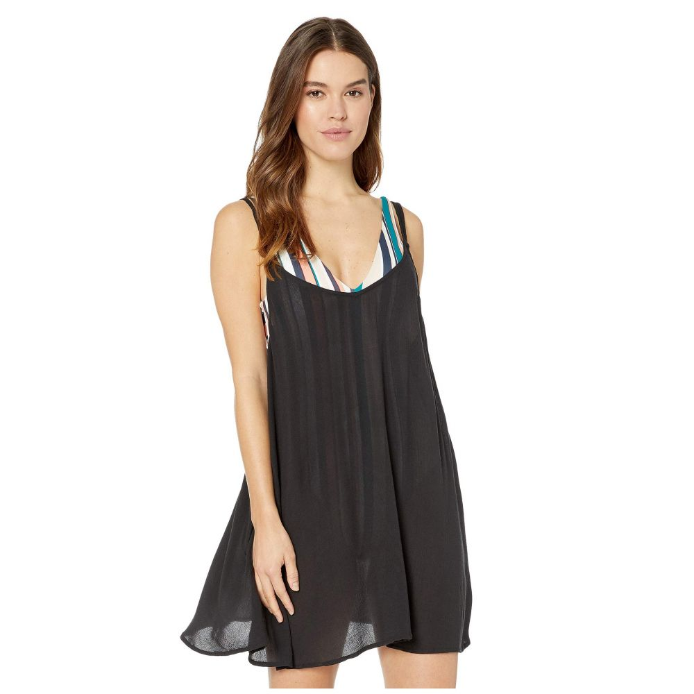 ロキシー Roxy レディース ビーチウェア ワンピース・ドレス 水着・ビーチウェア【Chill Day Cover-Up Dress】Anthracite
