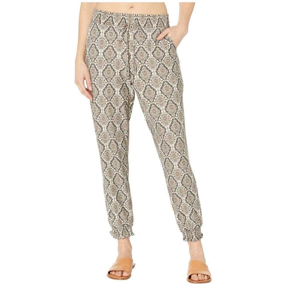 トミー バハマ Tommy Bahama レディース ビーチウェア ジョガーパンツ ボトムス・パンツ 水着・ビーチウェア【Desert Python Jogger Pants Cover-Up】Caffe