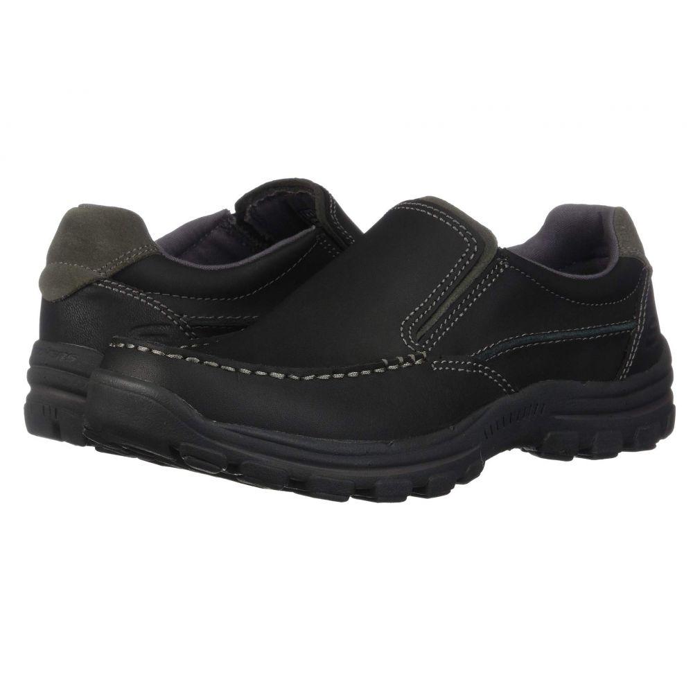 スケッチャーズ SKECHERS メンズ ローファー シューズ・靴【Relaxed Fit Braver - Rayland】Black