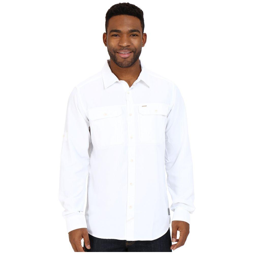マウンテンハードウェア Mountain Hardwear メンズ シャツ トップス【Canyon(TM) L/S Shirt】White
