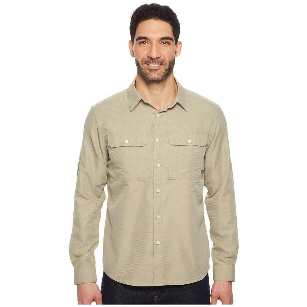 マウンテンハードウェア Mountain Hardwear メンズ シャツ トップス【Canyon(TM) L/S Shirt】Badlands