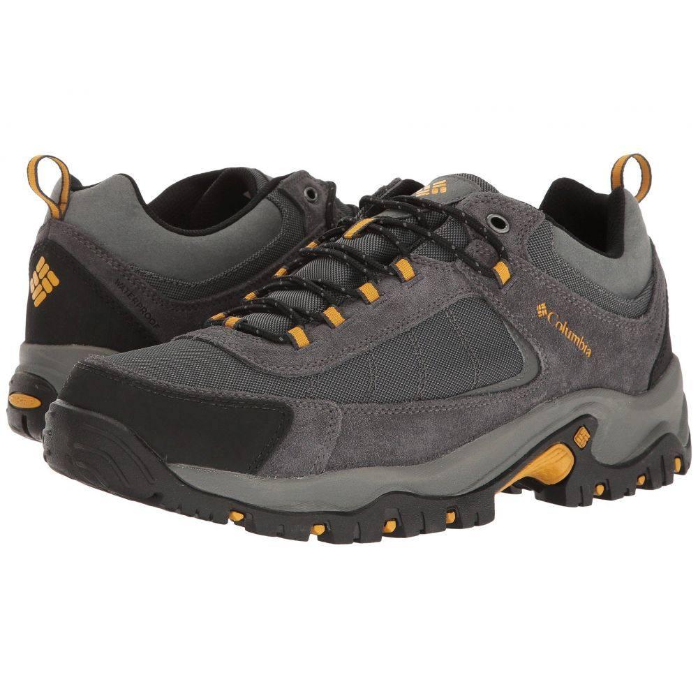 コロンビア Columbia メンズ ハイキング・登山 シューズ・靴【Granite Ridge Waterproof】Dark Grey/Golden Yellow