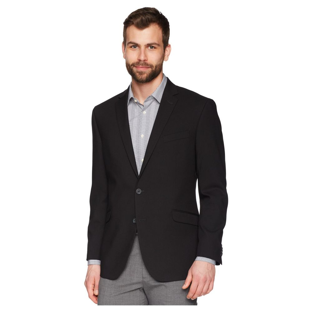 ケネス コール Kenneth Cole Reaction メンズ スーツ・ジャケット アウター【Techni-Cole Stretch Suit Separate Blazer】Black