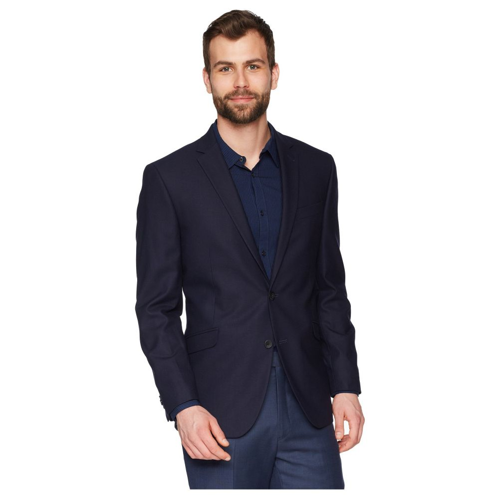 ケネス コール Kenneth Cole Reaction メンズ スーツ・ジャケット アウター【Techni-Cole Stretch Suit Separate Blazer】Navy Shadow Check