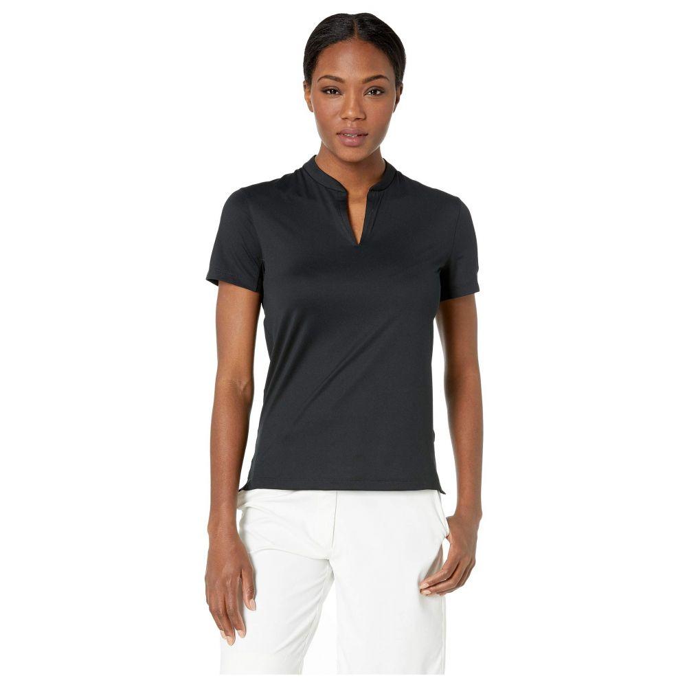 ナイキ Nike Golf レディース ポロシャツ 半袖 トップス【Dry Polo Short Sleeve Texture Blade】Black/Black/Black