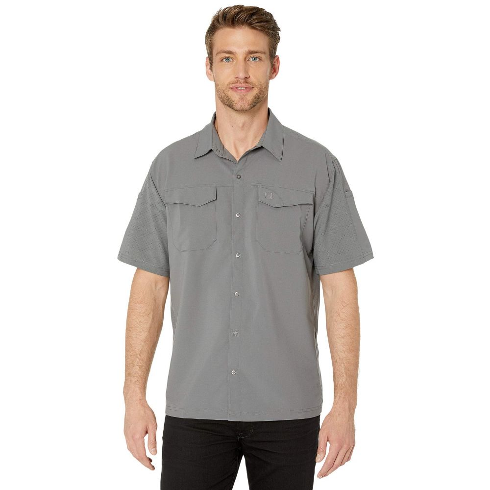 5.11 タクティカル 5.11 Tactical メンズ 半袖シャツ トップス【Freedom Flex Woven Short Sleeve Shirt】Storm
