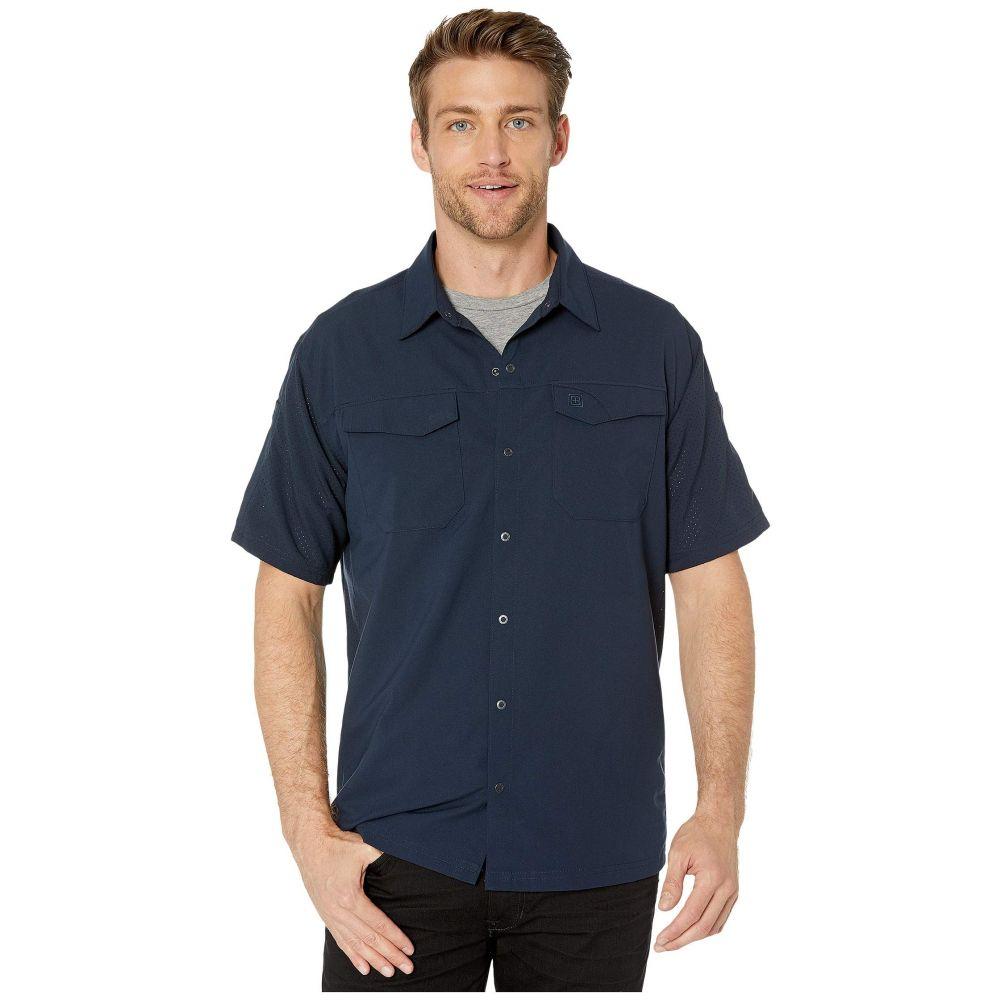 5.11 タクティカル 5.11 Tactical メンズ 半袖シャツ トップス【Freedom Flex Woven Short Sleeve Shirt】Peacoat