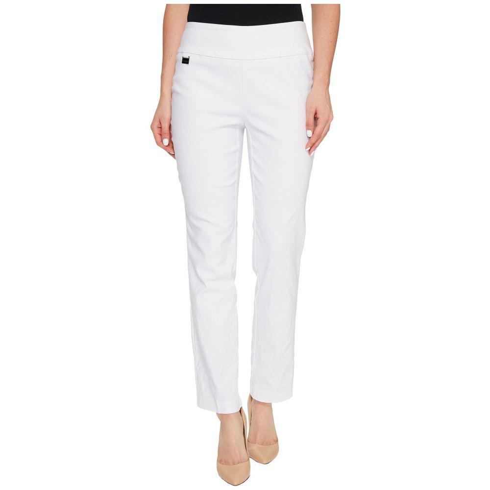 リゼッタ Lisette L Montreal レディース クロップド アンクル ボトムス・パンツ【Solid Magical Lycra Ankle Pants】White