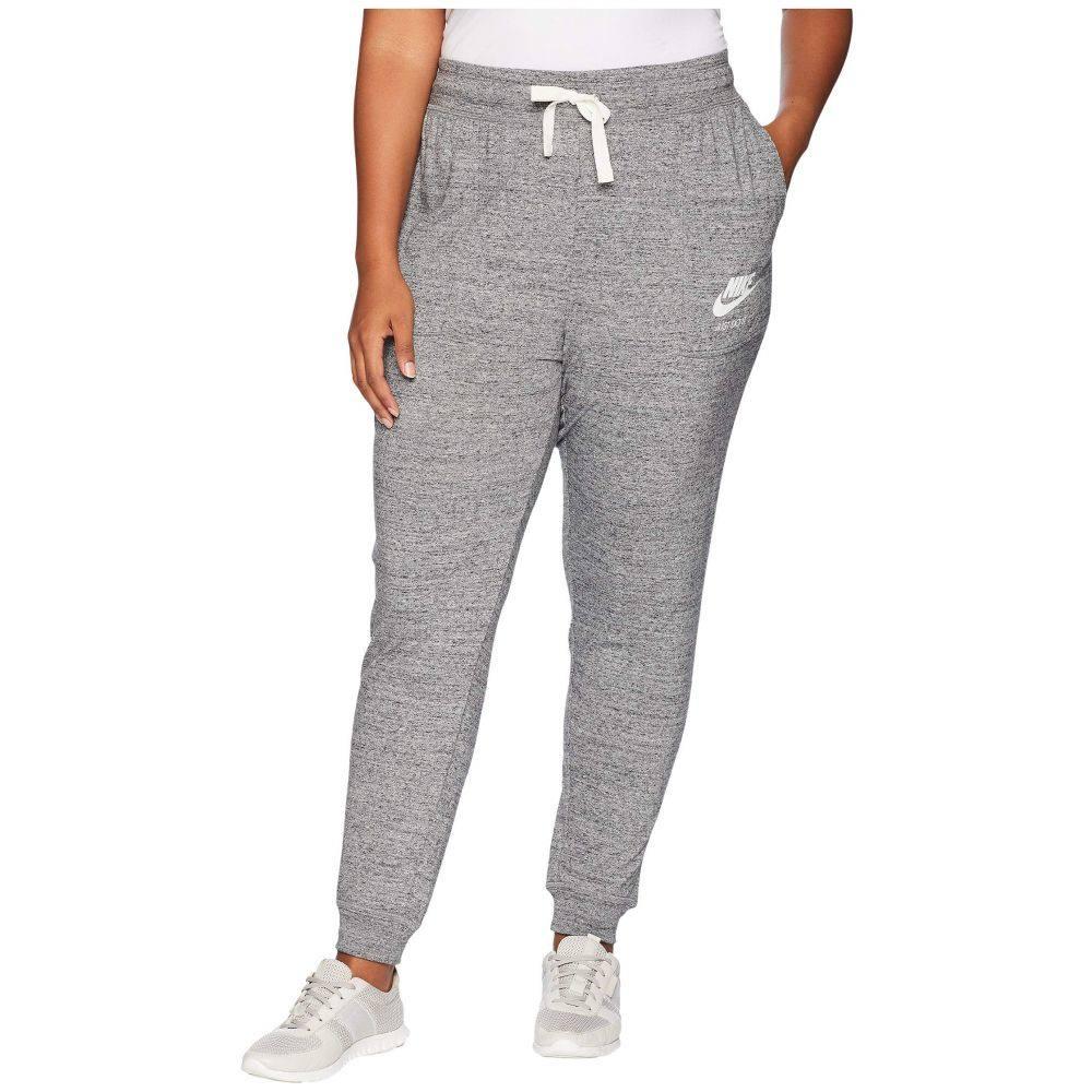 ナイキ Nike レディース ボトムス・パンツ 大きいサイズ【Plus Size Gym Vintage Extended Pants】Carbon Heather/Sail