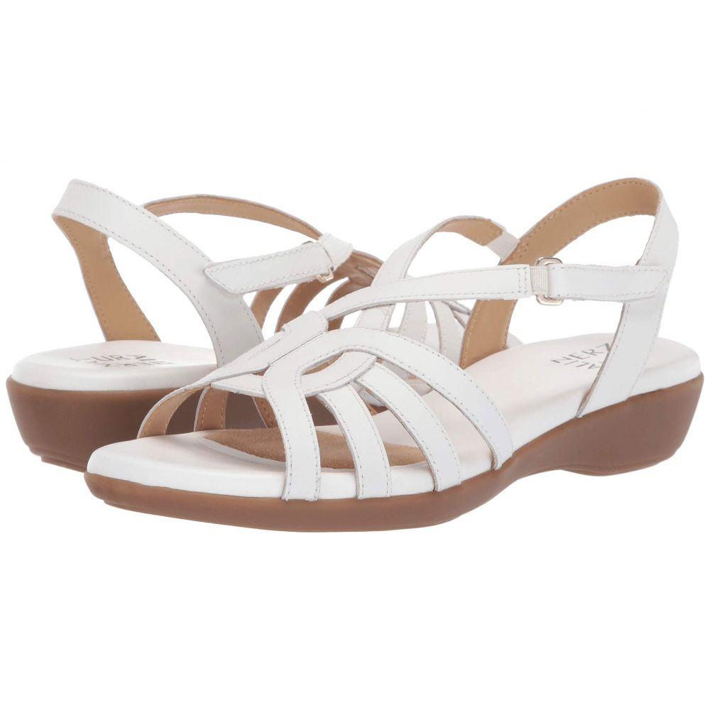 ナチュラライザー Naturalizer レディース サンダル・ミュール シューズ・靴【Nalani】White Leather