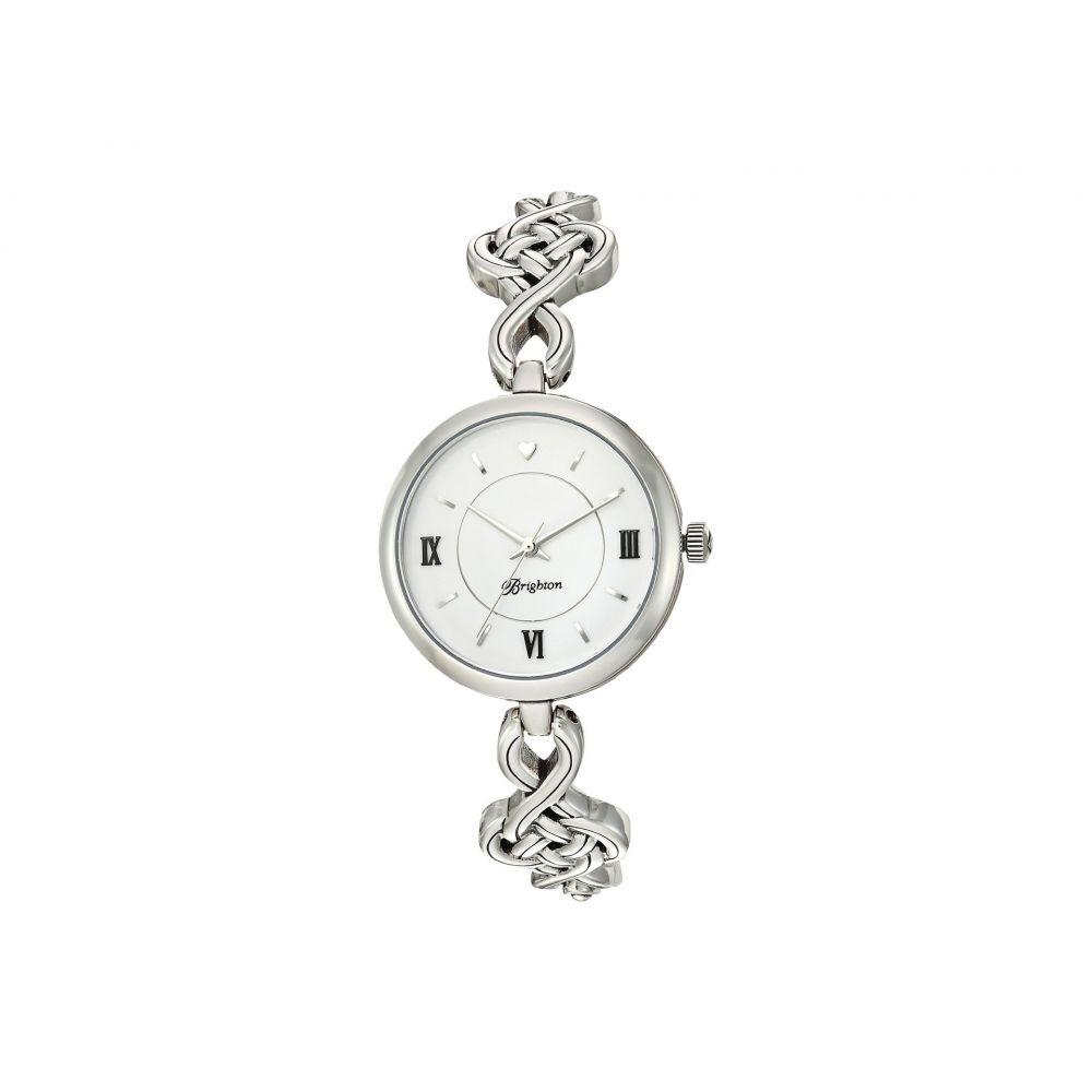 ブライトン Brighton レディース 腕時計 【Interlock Timepiece】Silver