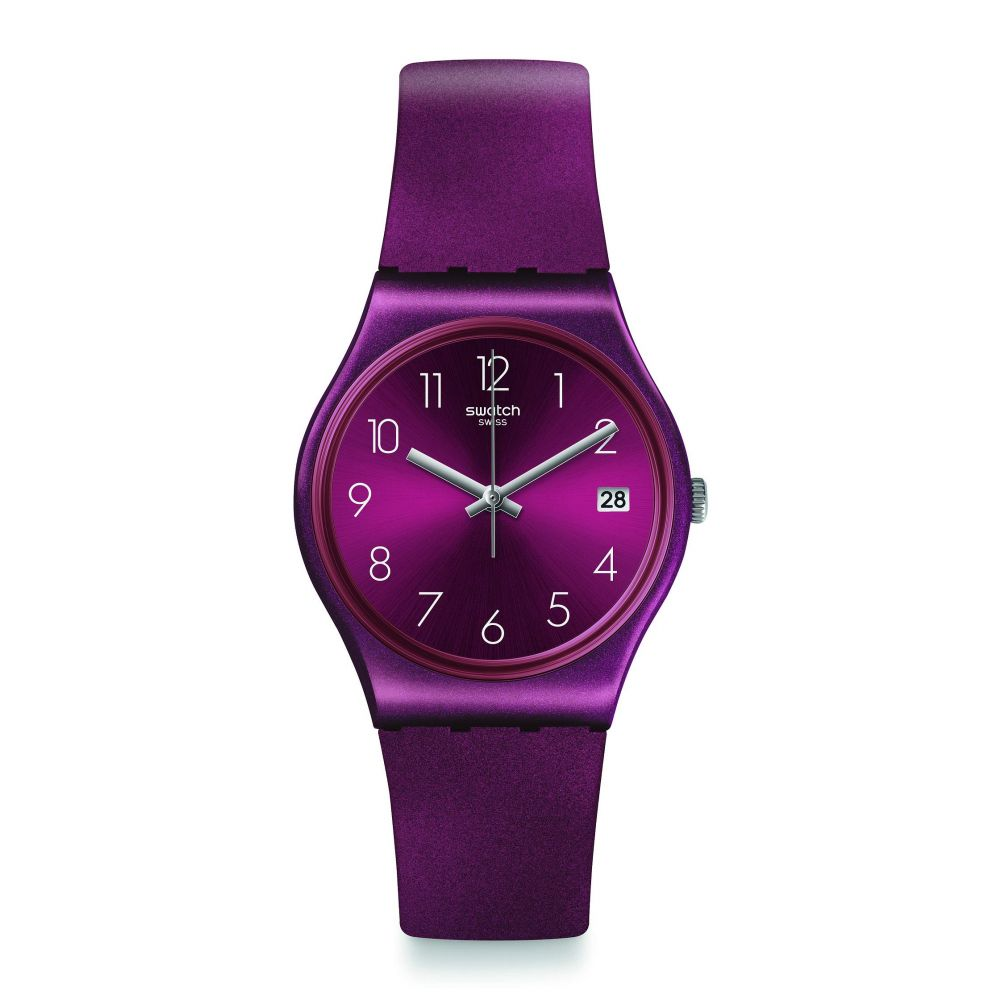 スウォッチ Swatch レディース 腕時計 【Redbaya - GR405】Red