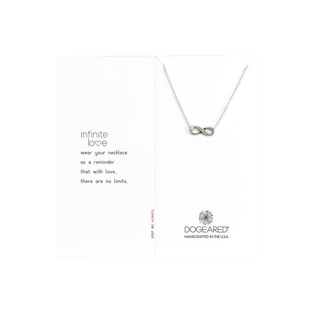 ドギャード Dogeared レディース ネックレス ジュエリー・アクセサリー【Infinite Love Necklace 16'】Silver