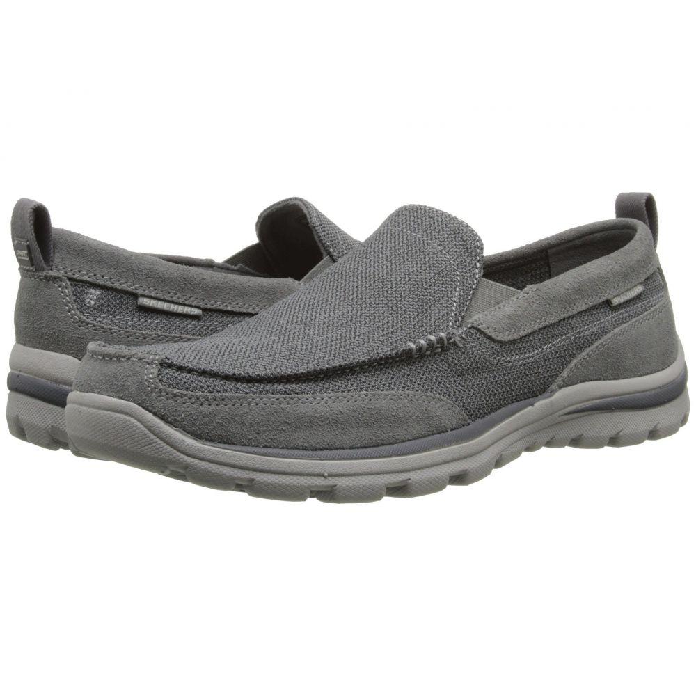 スケッチャーズ SKECHERS メンズ ローファー シューズ・靴【Relaxed Fit Superior - Milford】Charcoal/Grey