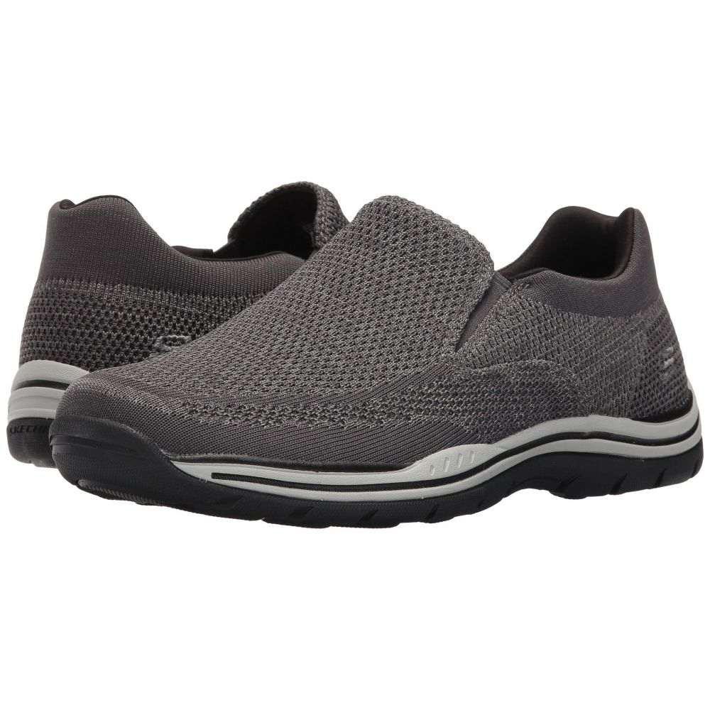 スケッチャーズ SKECHERS メンズ ローファー シューズ・靴【Relaxed Fit Expected - Gomel】Gray Knitted Mesh