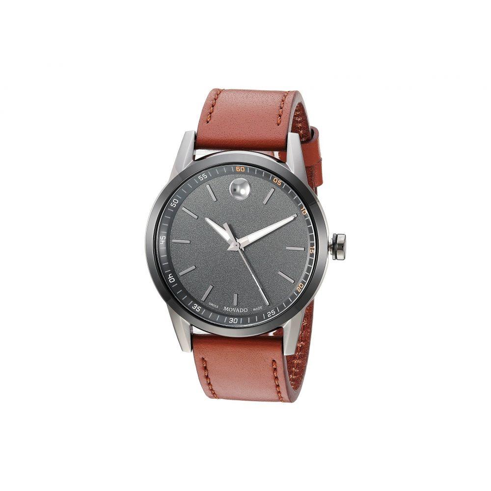 モバード Movado メンズ 腕時計 【Core-Museum Classic - 0607224】Gunmetal