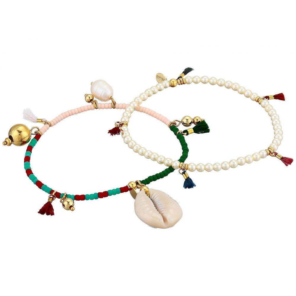 シャシ SHASHI レディース ブレスレット ジュエリー・アクセサリー【Sealu Bracelet Set】White/Multi