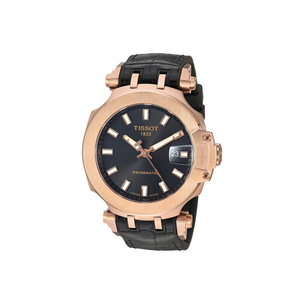 ティソ Tissot メンズ 腕時計 【T-Race Swissmatic - T1154073705100】Black