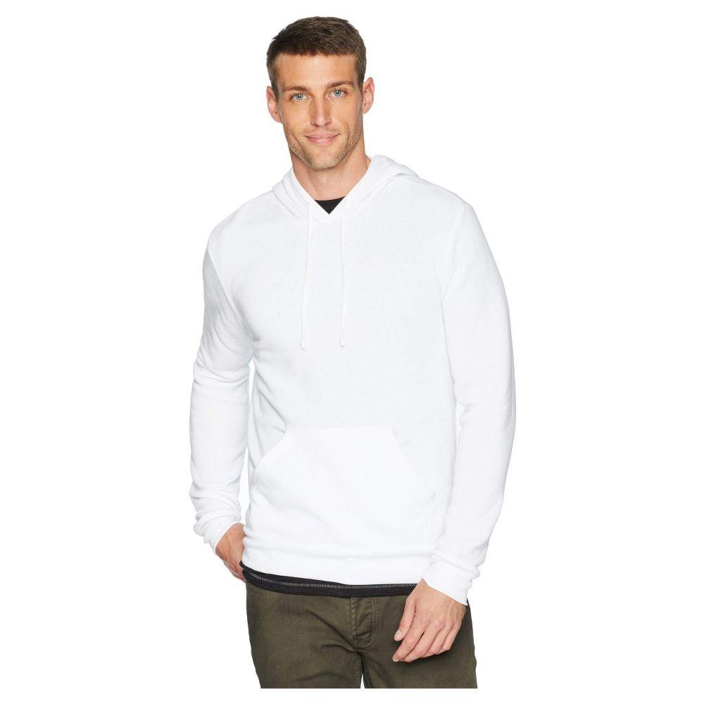 オルタナティヴ Alternative メンズ パーカー トップス【Challenger Eco-Fleece Pullover Hoodie】Eco White