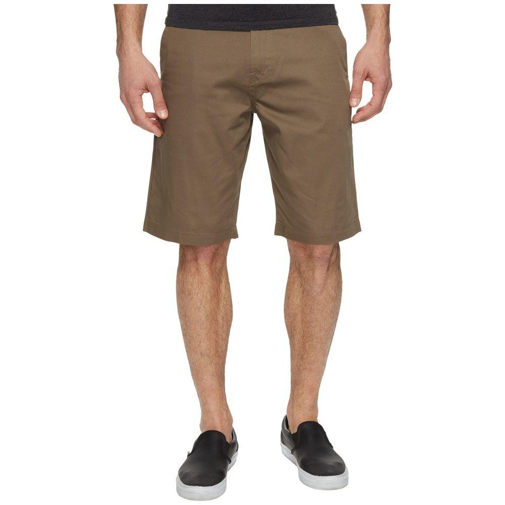 ボルコム Volcom メンズ ショートパンツ チノパン ボトムス・パンツ【Frickin Chino Shorts】Mushroom