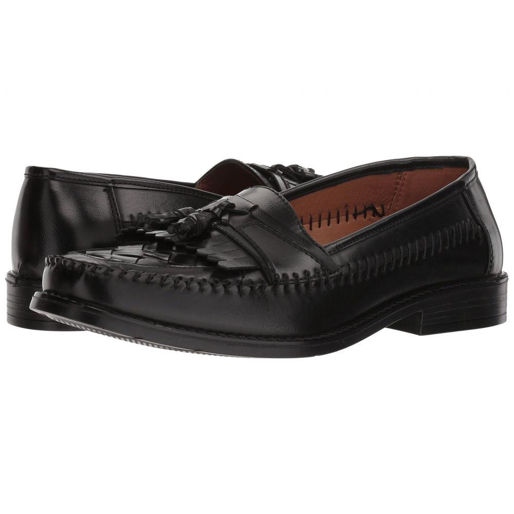ディール スタッグス Deer Stags メンズ ローファー シューズ・靴【Herman Tassel Loafer】Jet Black Simulated Leather
