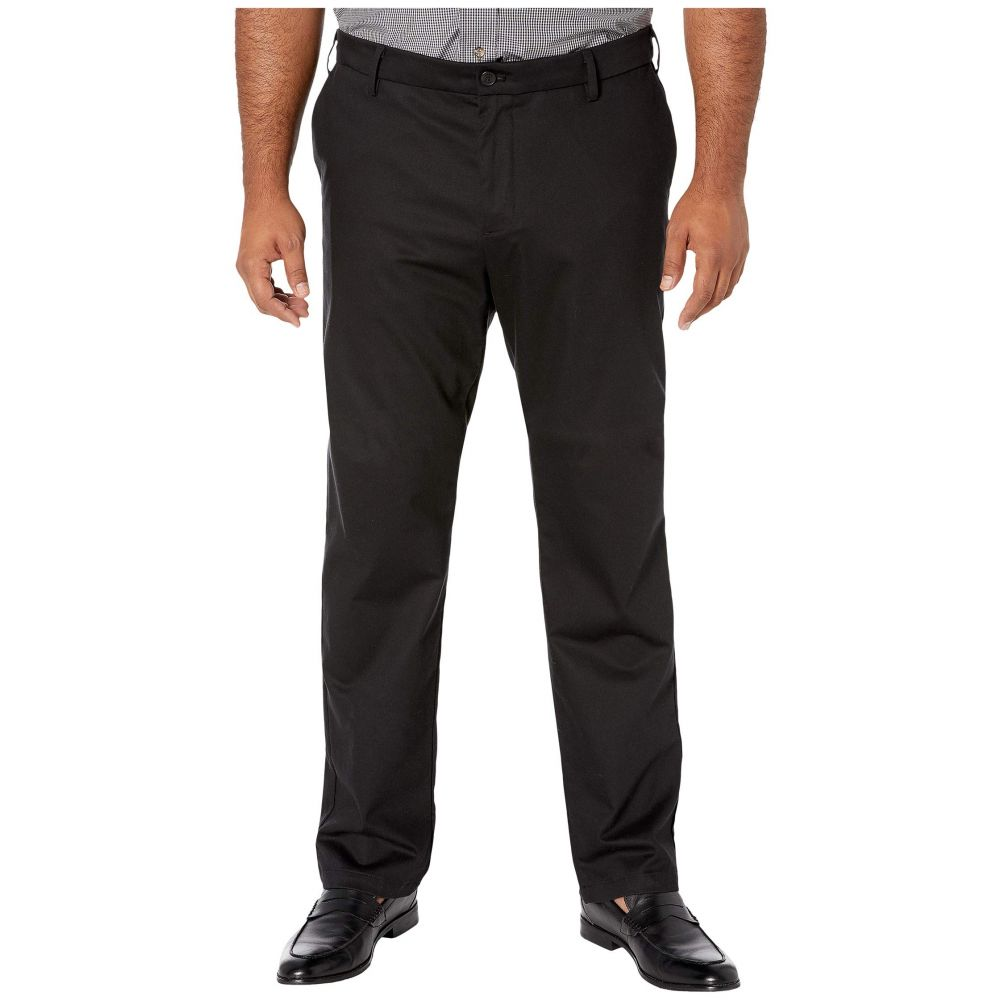 ドッカーズ Dockers メンズ ボトムス・パンツ 大きいサイズ テーパードパンツ【Big & Tall Modern Tapered Signature Khaki Creaseless Pants】Black