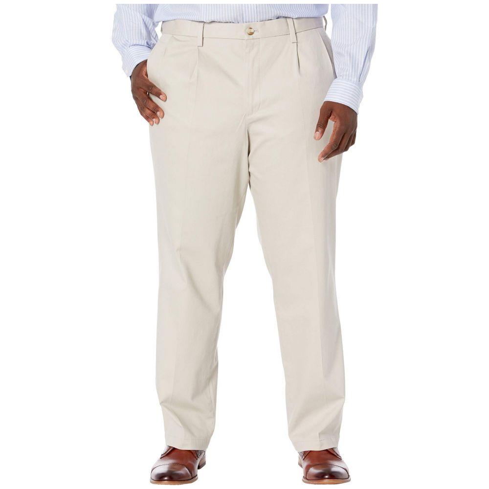 ドッカーズ Dockers メンズ ボトムス・パンツ 大きいサイズ【Big & Tall Classic Fit Signature Khaki Lux Cotton Stretch Pants - Pleated】Cloud