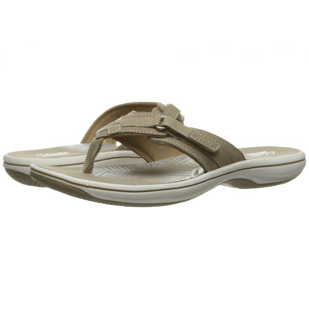 クラークス Clarks レディース ビーチサンダル シューズ・靴【Breeze Sea】Taupe