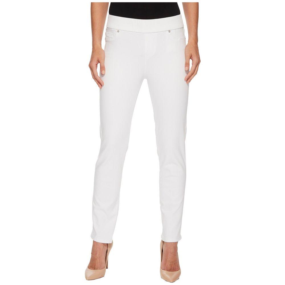 リバプール Liverpool レディース ジーンズ・デニム ボトムス・パンツ【Meredith Ankle Pull-On Slim in Slub Stretch Twill in Bright White】Bright White