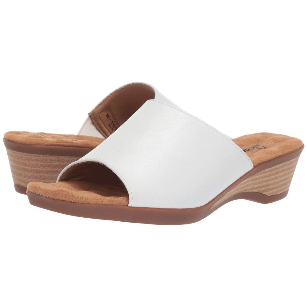 ウォーキング クレードル Walking Cradles レディース ヒール シューズ・靴【Kerry】White Leather