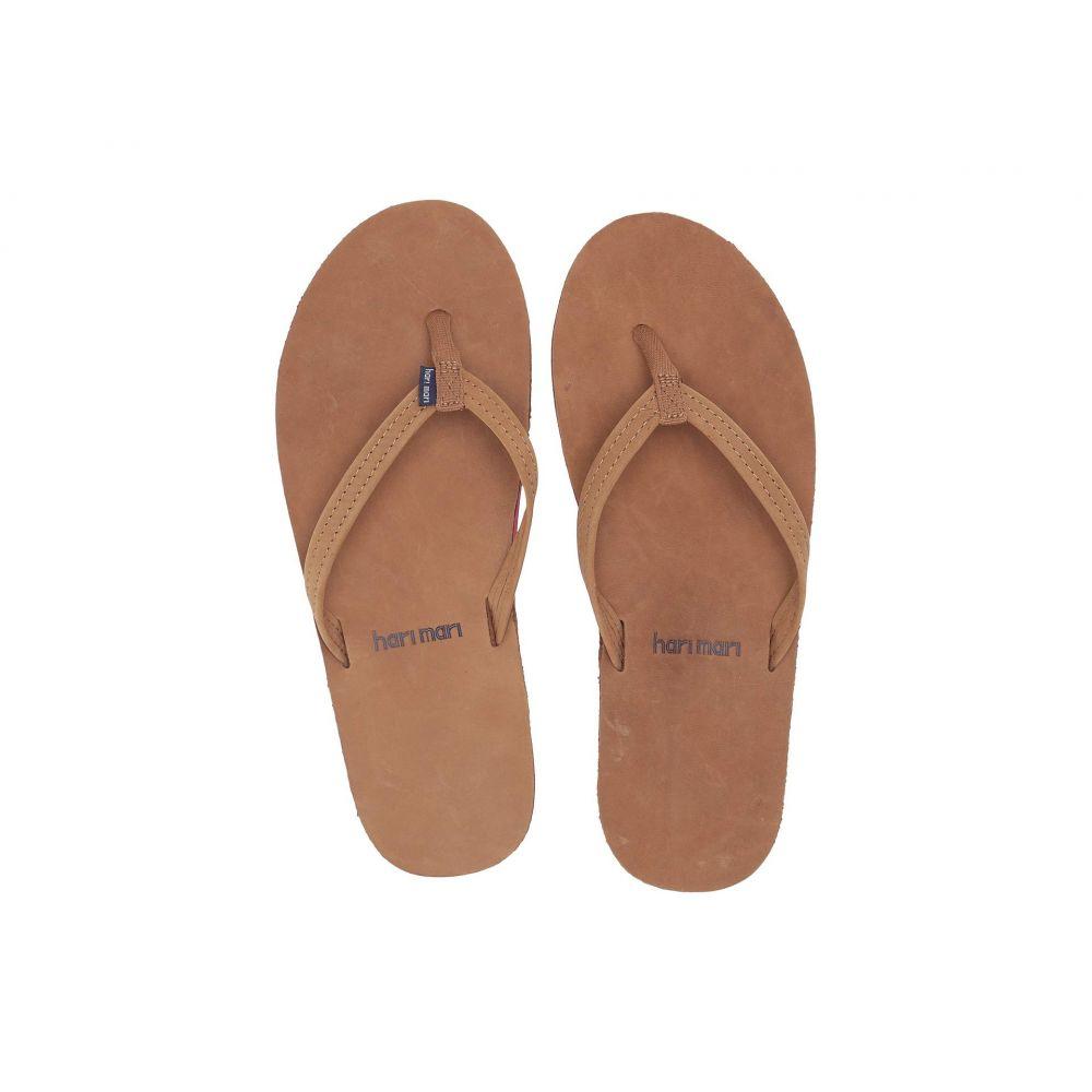 ハリマリ hari mari レディース ビーチサンダル シューズ・靴【Fields】Tan/Blue