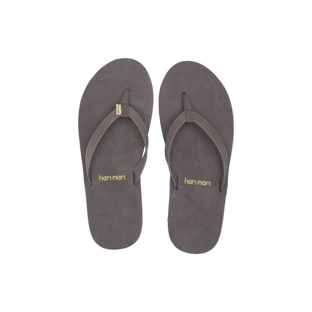 ハリマリ hari mari レディース ビーチサンダル シューズ・靴【Fields】Dark Gray/Aqua