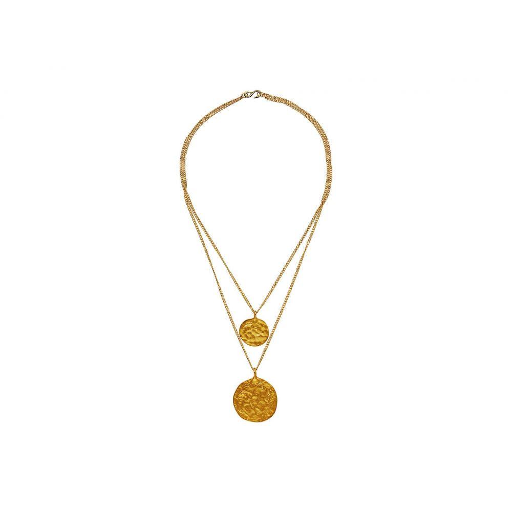 ケネスジェイレーン Kenneth Jay Lane レディース ネックレス ジュエリー・アクセサリー【Gold Two Chain with 2 Coin Pendants】Gold