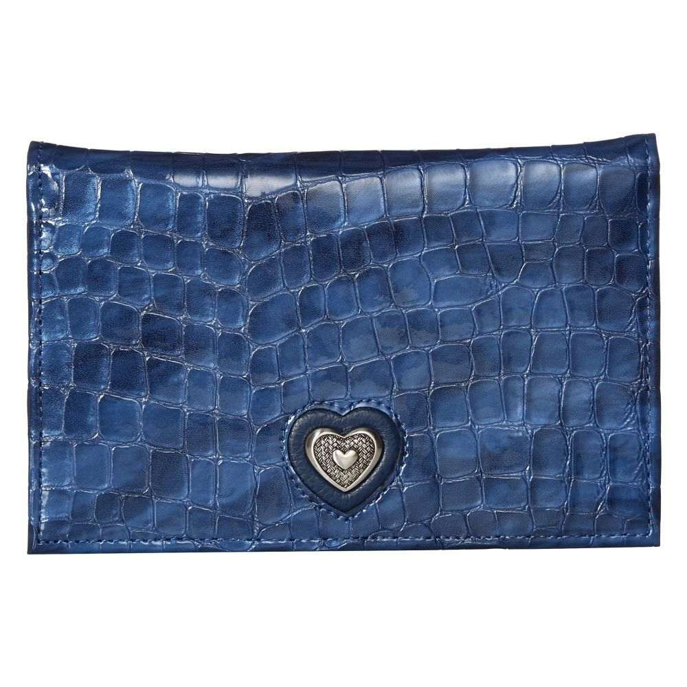 ブライトン Brighton レディース 財布 【Bellissimo Heart Folio Wallet】French Blue
