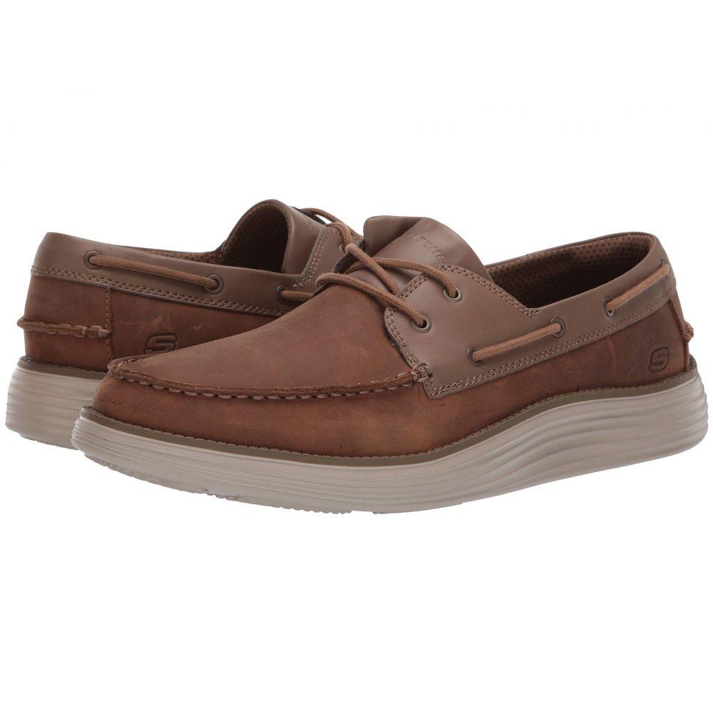 スケッチャーズ SKECHERS メンズ デッキシューズ シューズ・靴【Status 2.0 - Former】Desert Brown